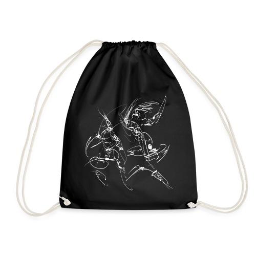martial arts - Drawstring Bag