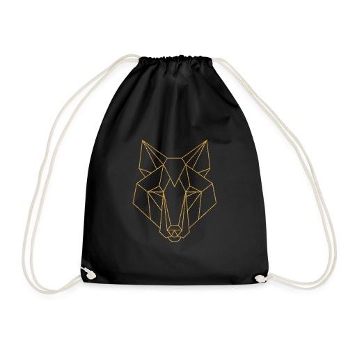 MonkeyShy logo fox couleur or paillettes - Sac de sport léger