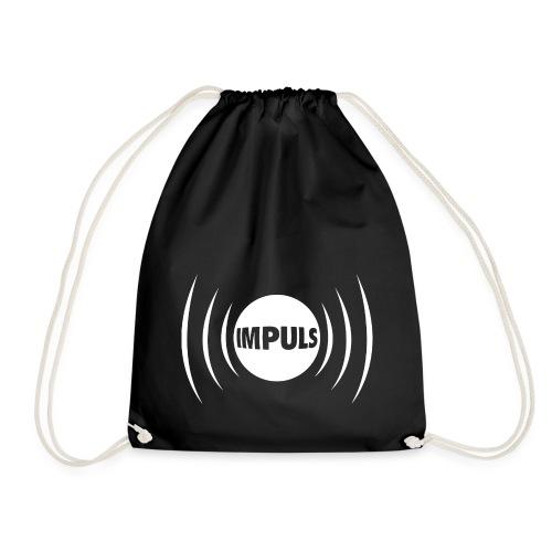 Impuls Logo white - Turnbeutel