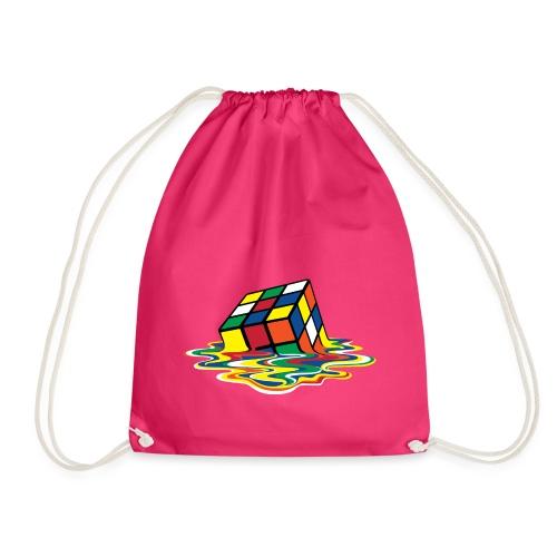 Rubik's Cube Melting Cube - Drawstring Bag