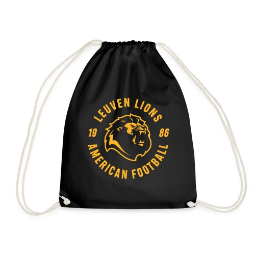 Lions old school gold - Drawstring Bag