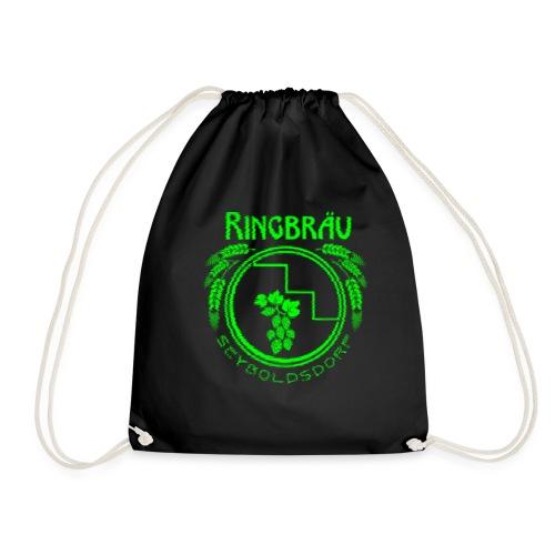 ringbraeu green scanline - Turnbeutel