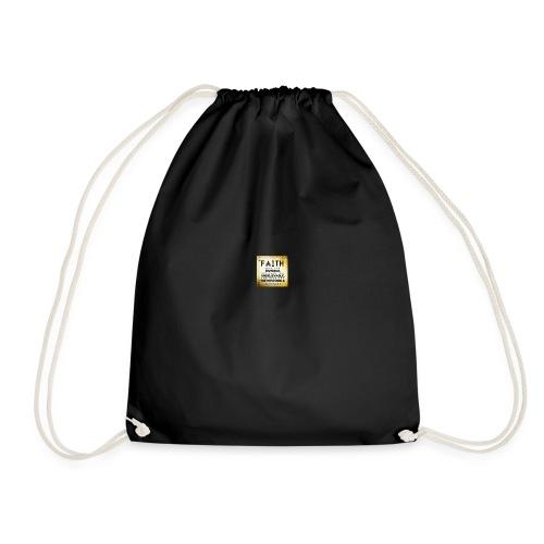 faith is 2 - Drawstring Bag