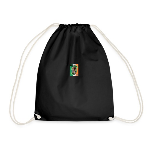 ANT THE CHAMP with 2018 winning belt - Drawstring Bag
