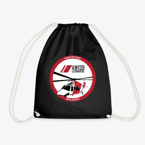 AW139 SAR Diseño Frontal - Mochila saco
