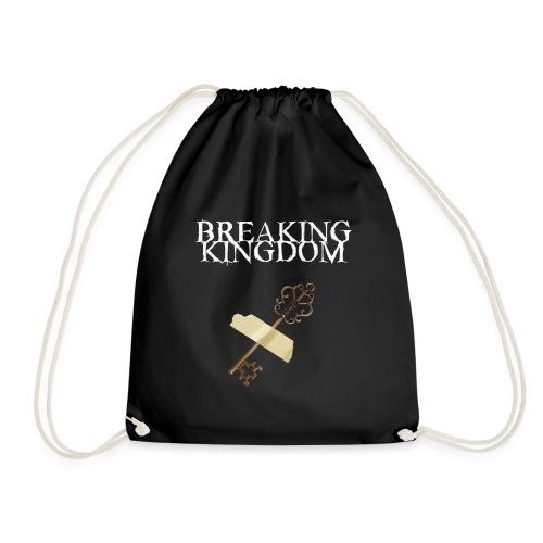 Breaking Kingdom schwarzes Design - Turnbeutel