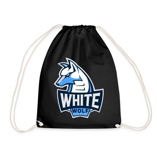 White Wolf Logo - Turnbeutel