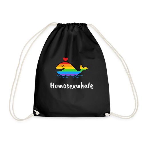 Ballenita Orgullo Gay | LGTBI Arco Iris - Mochila saco