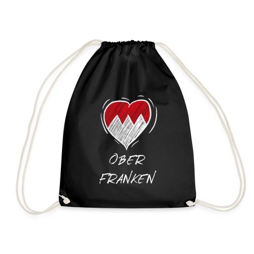 Oberfranken - Frankenwappen Love Wappen Franken - Turnbeutel
