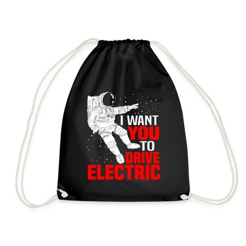 I Want You To Drive Electric Geschenk Elektrisch - Turnbeutel