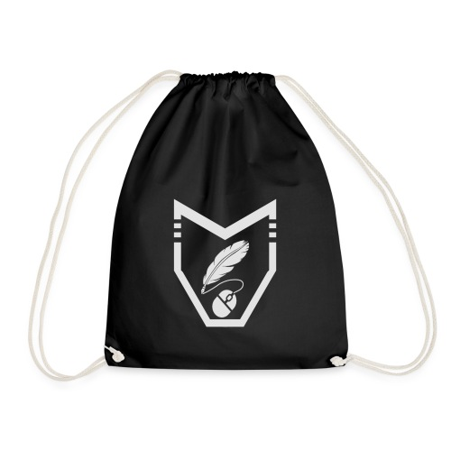 Inked Shield - Drawstring Bag
