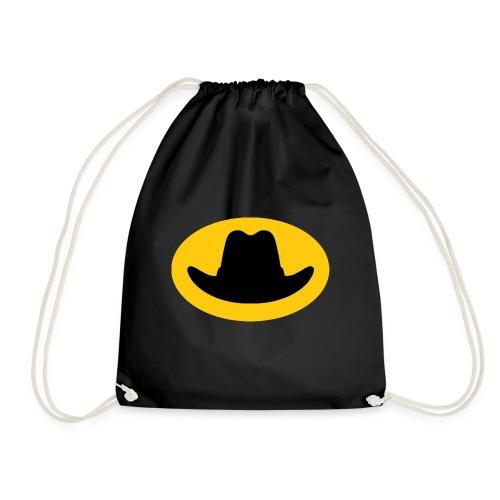 Hat Symbol - Drawstring Bag