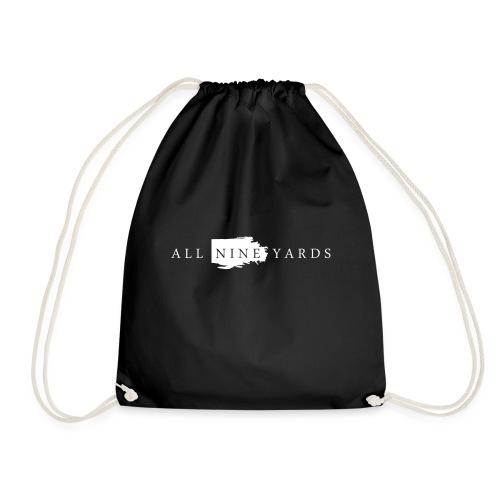 A9Y Logo White - Drawstring Bag