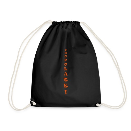 chocolate only - Drawstring Bag