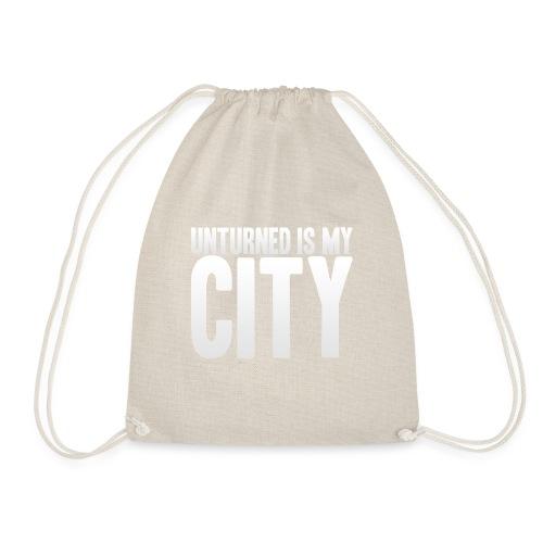 Unturned is my city - Drawstring Bag