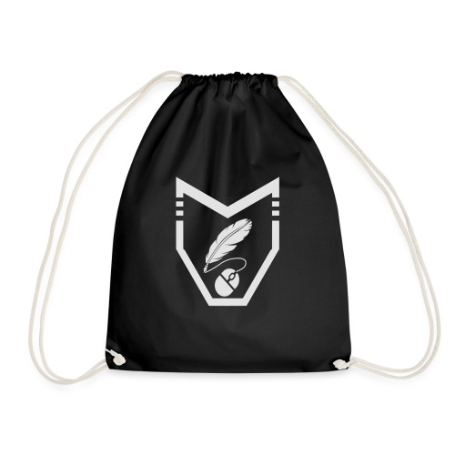 Inked Shield - Drawstring Bag
