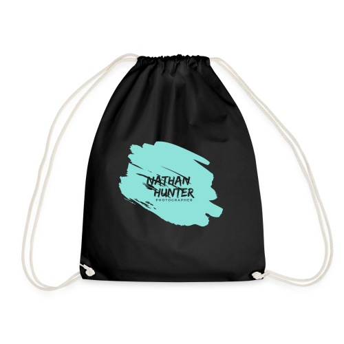Nathan Hunter paint - Drawstring Bag