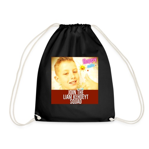 join the liam kehoeYT squa - Drawstring Bag