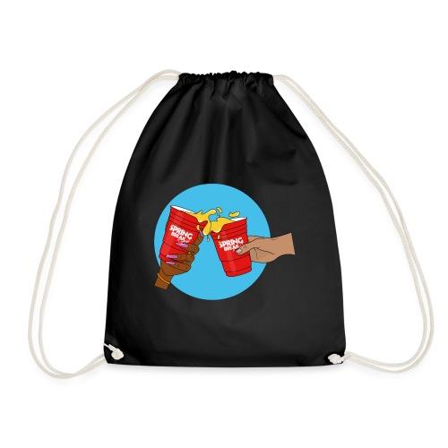 Blue/Red - Spring Break Portugal 2019 - Drawstring Bag