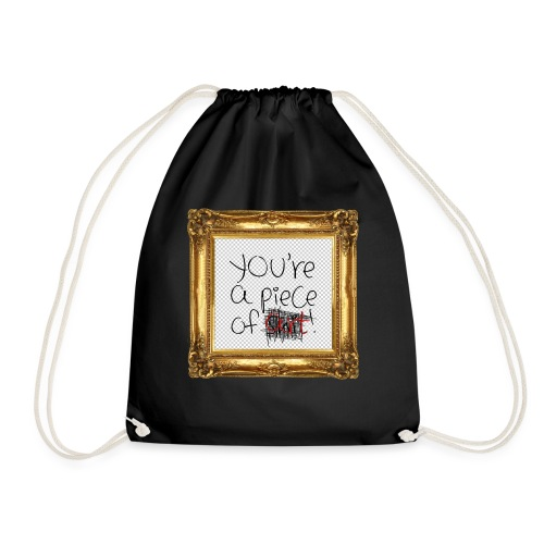 Piece of Art - Drawstring Bag
