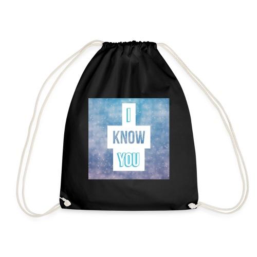 I_Know_You Logo - Turnbeutel