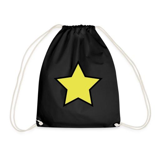 Star - Stjerne - Drawstring Bag