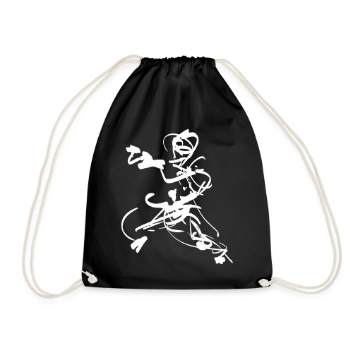 mantis style - Drawstring Bag