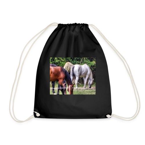 racehorse horses horse horsesofinstagr - Turnbeutel