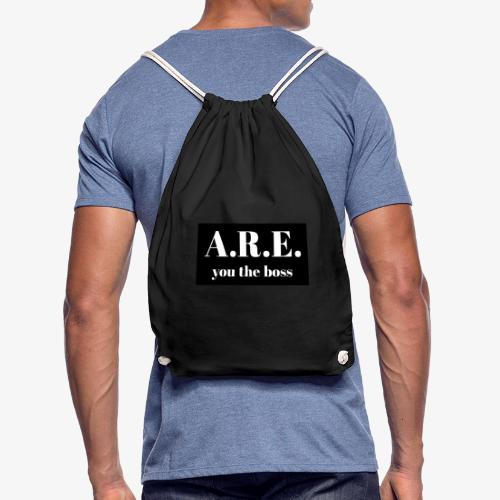 AREyou the boss - Drawstring Bag