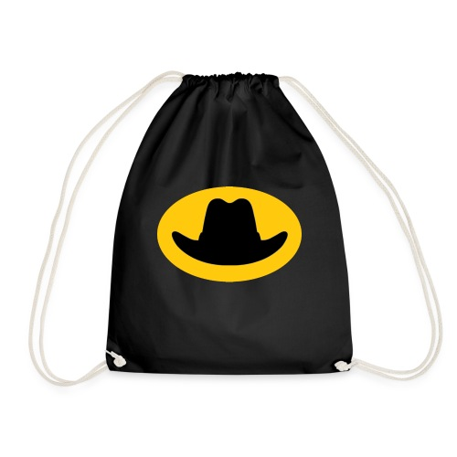 Hat Symbol - Drawstring Bag