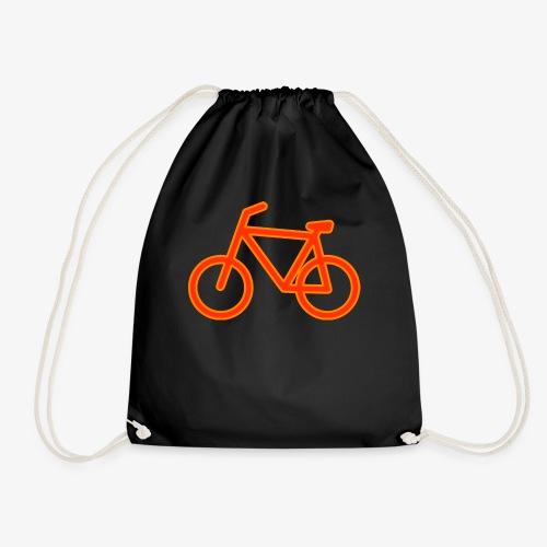 Fahrrad Symbol Shirt Design Geschenk - Turnbeutel