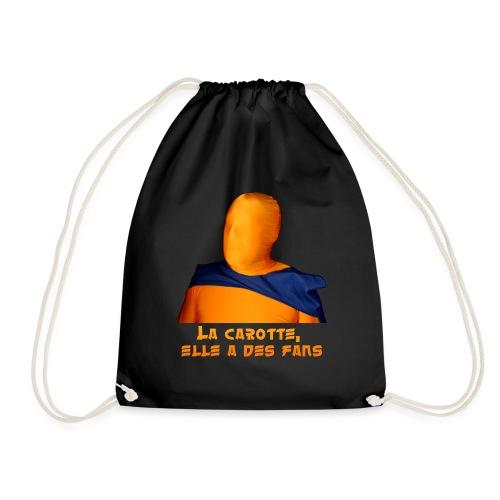 La carotte, elle a des fans ! (vêtements foncés) - Sac de sport léger