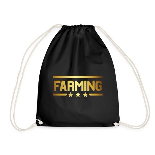00364 Farming dorado - Mochila saco