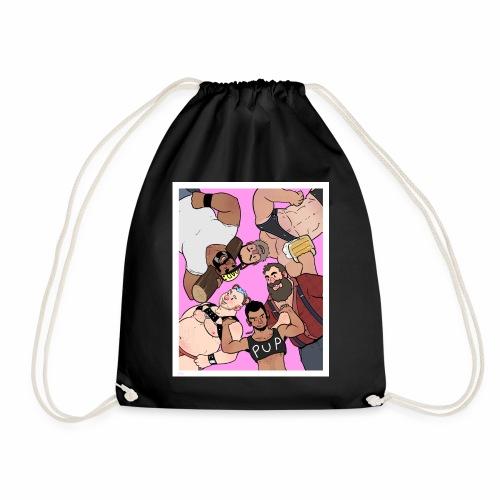 Bear Pile - Drawstring Bag