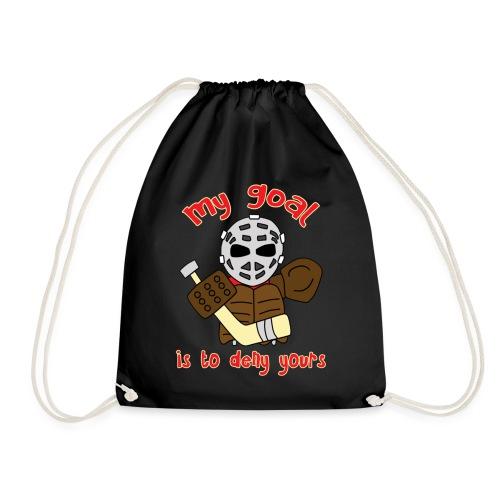 Little Vintage Goalie - Drawstring Bag