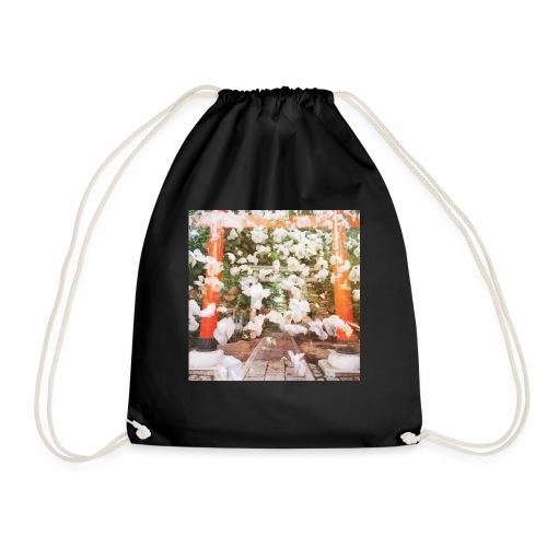 見ぬが花 Imagination is more beautiful than vi - Drawstring Bag