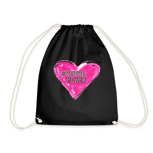 #mammapower - Drawstring Bag