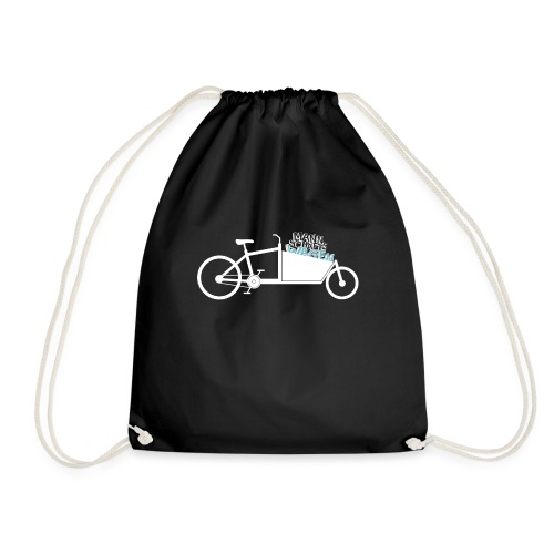 Lastenrad als Mannschaftswagen - Turnbeutel