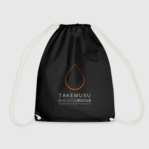 Takemusu Aikido Orgiva - Fire - Drawstring Bag
