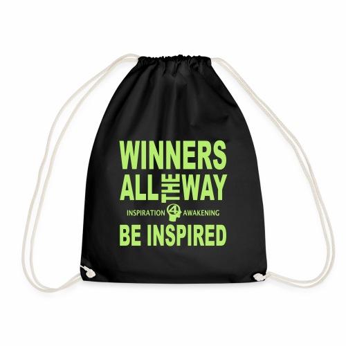 Sei inspiriert, sei ein Gewinner-1 - Turnbeutel