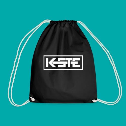 K-STE Logo weiß - Turnbeutel