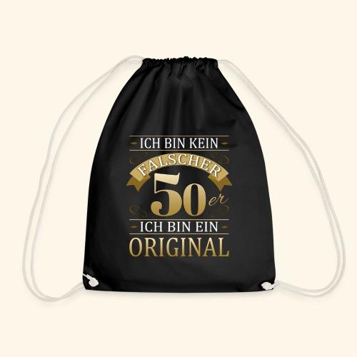 Falscher 50er 50. Geburtstaggeschenk 50 Original - Turnbeutel