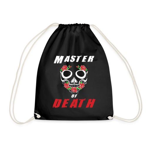 Master of death - white - Worek gimnastyczny