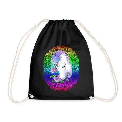 Rainbow Unicorn - Turnbeutel