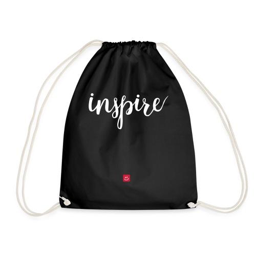 Inspireer - Spreuk - Gymtas