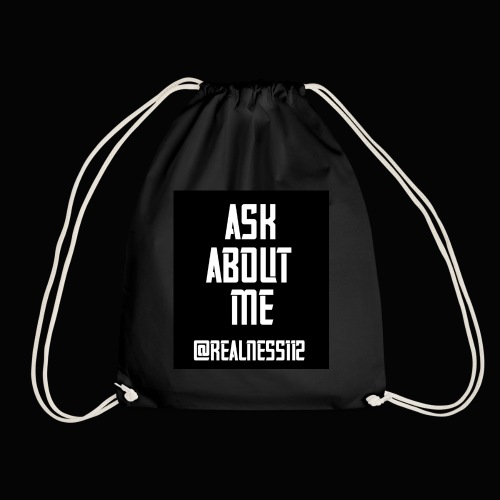Ask About Me!! Truth T-Shirts!! #Woke #AskAboutMe - Drawstring Bag