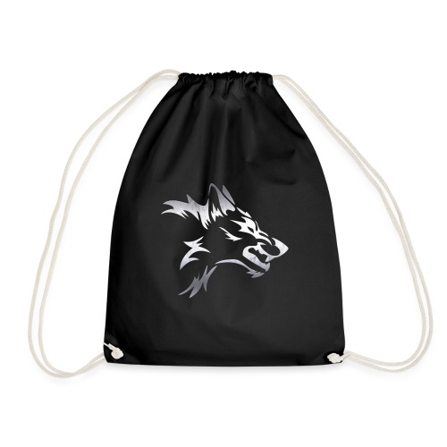 Kizo1991 Silver Wolf - Drawstring Bag