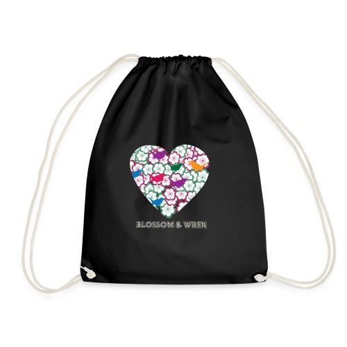 blossom-and-wren - Drawstring Bag