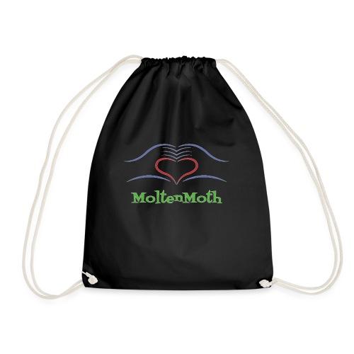 MoltenMoth - Drawstring Bag
