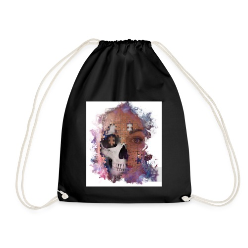 a piece of the puzzle - Drawstring Bag